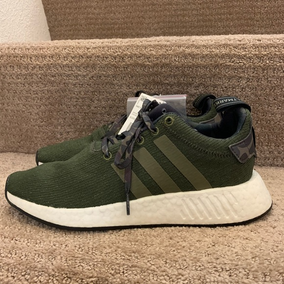 Nwt Boost Army Green Sneakers Size 85